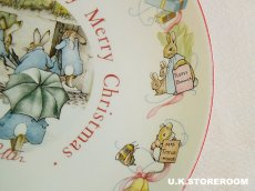 画像3: CH013 Peter Rabbit ピーターラビット クリスマスプレート 1984年 (3)