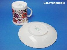 画像6: MB001 Elizabethan エリザベザン カーナビー レッド コーヒーカップ&ソーサー (6)