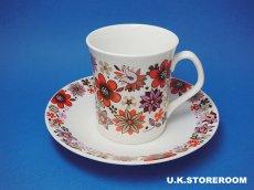 画像3: MB001 Elizabethan エリザベザン カーナビー レッド コーヒーカップ&ソーサー (3)