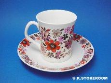画像4: MB001 Elizabethan エリザベザン カーナビー レッド コーヒーカップ&ソーサー (4)