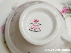 画像9: MB016 Royal Osborne ロイヤルオズボーン ローズ ティートリオ (9)