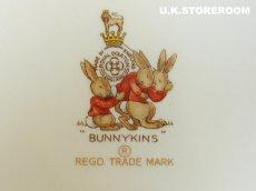 画像5: CH024 Royal Doulton Bunnykins  バニキンズ ケーキプレートA (5)