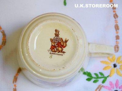 画像3: CH028 Royal Doulton Bunnykins  ロイヤルドルトン バニキンズ ティーカップ&ソーサー