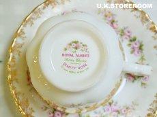画像9: RA036 Royal Albert  ロイヤルアルバート ディミティローズ ティートリオ (9)