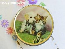 画像2: CO015 Edward Sharp & Sons  エドワードシャープ 仔犬&仔猫 トフィー缶 (2)
