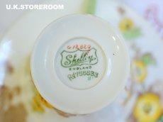 画像8: SH011 Shelley シェリー ホーリーホック ティーカップ&ソーサー (8)