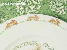 画像4: CH062 Royal Doulton Bunnykins  ロイヤルドルトン バニキンズ クリスマスプレート (4)