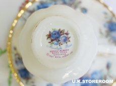 画像8: RA075 Royal Albert  ロイヤルアルバート ムーンライトローズ コーヒーカップ&ソーサー (8)