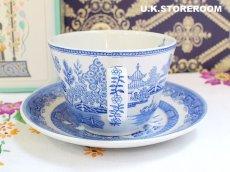 画像5: SPO082 Spode スポード  ブルールームコレクション -ウィロー- ティーカップ&ソーサー (5)