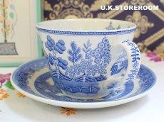 画像6: SPO082 Spode スポード  ブルールームコレクション -ウィロー- ティーカップ&ソーサー (6)