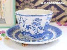 画像3: SPO082 Spode スポード  ブルールームコレクション -ウィロー- ティーカップ&ソーサー (3)