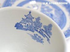 画像7: SPO082 Spode スポード  ブルールームコレクション -ウィロー- ティーカップ&ソーサー (7)