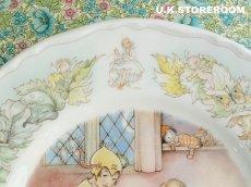 画像4: CH077 Mabel Lucie Attwell  マーベル・ルーシー・アトウェル  ピーターパンコレクションプレート -Peter's Shadow- (4)