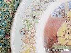 画像6: CH077 Mabel Lucie Attwell  マーベル・ルーシー・アトウェル  ピーターパンコレクションプレート -Peter's Shadow- (6)