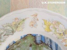画像4: CH075 Mabel Lucie Attwell  マーベル・ルーシー・アトウェル  ピーターパンコレクションプレート -Peter keeps watch- (4)