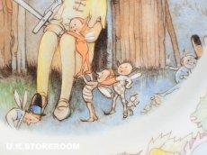 画像7: CH075 Mabel Lucie Attwell  マーベル・ルーシー・アトウェル  ピーターパンコレクションプレート -Peter keeps watch- (7)