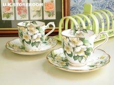 画像1: RA083 Royal Albert  ロイヤルアルバート オレンジブロッサム コーヒーカップ&ソーサー (1)
