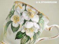 画像4: RA083 Royal Albert  ロイヤルアルバート オレンジブロッサム コーヒーカップ&ソーサー (4)