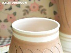 画像3: MB036 Poole Pottery プールポタリー PR.Bパターン フラワーベース 小 (3)