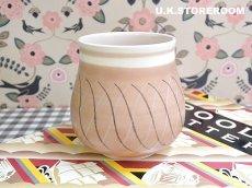 画像2: MB036 Poole Pottery プールポタリー PR.Bパターン フラワーベース 小 (2)