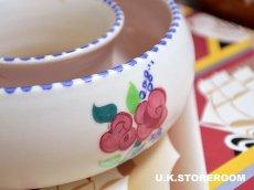 画像2: MB032 Poole Pottery プールポタリー  ラウンドフラワーベース (2)