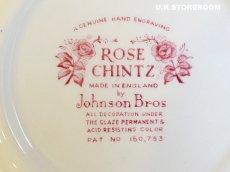 画像8: OB148 Johnson Bros ジョンソンブロス ローズチンツ シリアルボウルA (8)