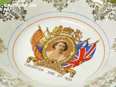 画像2: CO047 Washington Pottery エリザベス女王  コロネーションミニボウル (2)