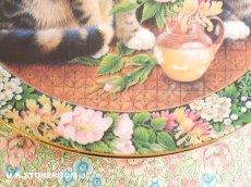 画像5: CH138 Royal Doulton Lesley Anne Ivory  レズリー・アン・アイボリー Cats in the window サマー ピクチャープレート  (5)