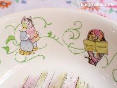 画像5: CH139 Wedgwood  Peter Rabbit  ウェッジウッド ピーターラビット グリーンライン サラダ/シリアルボウル (5)