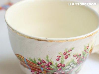 画像1: MB049 Staffs Tea Set Co Ltd. スタッフォードシャー ティーセット Co Ltd.   タータン&ヘザー TVセット