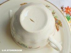 画像11: MB049 Staffs Tea Set Co Ltd. スタッフォードシャー ティーセット Co Ltd.   タータン&ヘザー TVセット (11)