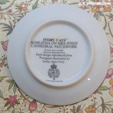 画像3: CH139 Royal Worcester Lesley Anne Ivory  レズリー・アン・アイボリー Ivory Cats ピンディッシュ  (3)