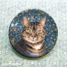 画像2: CH144 Royal Worcester Lesley Anne Ivory  レズリー・アン・アイボリー Ivory Cats ピンディッシュ  (2)