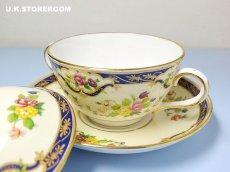 画像7: OB256 Tuscan China  タスカンチャイナ ふた付きスープカップ&ソーサー (7)