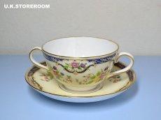 画像3: OB256 Tuscan China  タスカンチャイナ ふた付きスープカップ&ソーサー (3)
