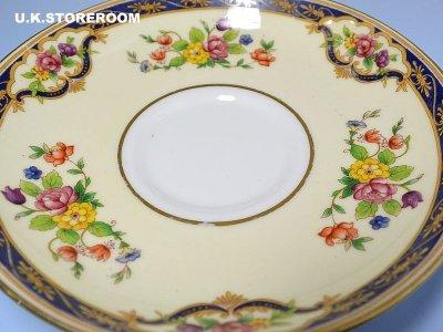 画像3: OB256 Tuscan China  タスカンチャイナ ふた付きスープカップ&ソーサー
