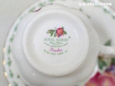 画像11: RA155 Royal Albert  ロイヤルアルバート コヴェントガーデンフルーツシリーズ -ピーチ-  ティーカップ&ソーサー (11)