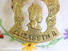 画像3: CO080 エリザベス女王 コロネーション ホースシュー 真ちゅう製オーナメント (3)