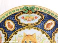 画像4: CH185 Coalport  Lesley Anne Ivory  レズリー・アン・アイボリー Kitten of the Week -Tuesday's Kitten- ピクチャープレート  (4)