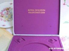 画像8: OB292 Royal Doulton  ロイヤルドルトン  バレンタインデイ コレクタープレート -1977年- (8)