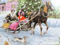 画像5: RA169Royal Albert  ロイヤルアルバート  クリスマスプレート-Christmas Sleighride- (5)