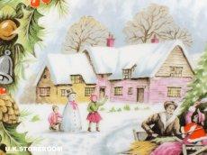 画像6: RA169Royal Albert  ロイヤルアルバート  クリスマスプレート-Christmas Sleighride- (6)