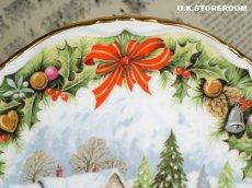 画像3: RA169Royal Albert  ロイヤルアルバート  クリスマスプレート-Christmas Sleighride- (3)