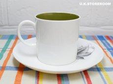 画像4: SC308 Susie Cooper スージークーパー ブラックフルーツ  コーヒーカップ&ソーサー 〜グレープ〜 (4)