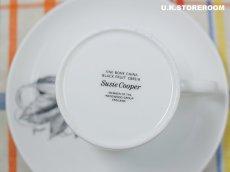 画像11: SC308 Susie Cooper スージークーパー ブラックフルーツ  コーヒーカップ&ソーサー 〜グレープ〜 (11)