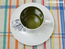 画像5: SC308 Susie Cooper スージークーパー ブラックフルーツ  コーヒーカップ&ソーサー 〜グレープ〜 (5)