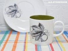 画像10: SC308 Susie Cooper スージークーパー ブラックフルーツ  コーヒーカップ&ソーサー 〜グレープ〜 (10)