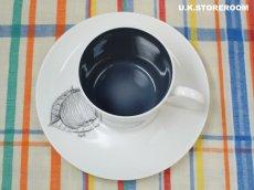 画像4: SC309 Susie Cooper スージークーパー ブラックフルーツ  コーヒーカップ&ソーサー 〜アップル〜 (4)