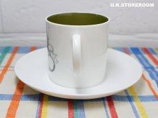 画像3: SC308 Susie Cooper スージークーパー ブラックフルーツ  コーヒーカップ&ソーサー 〜グレープ〜 (3)