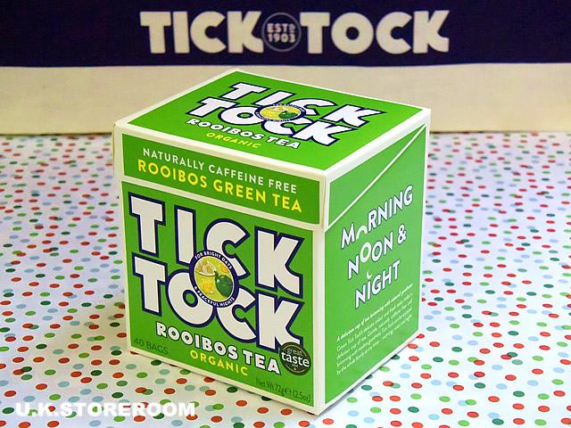 画像1: TT002 Tick Tock チックタック・オーガニックルイボスグリーンティー (1)